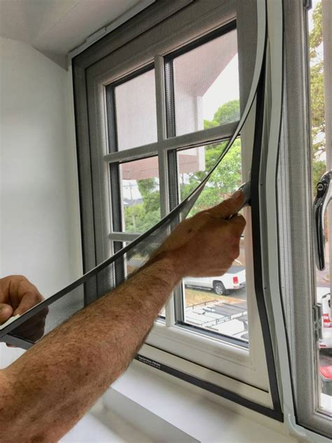 magnetic fly screen installation melbourne magic seal victoria