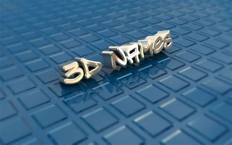 3d Wallpaper Name by 3d Name Wallpapers Wallpaper Cave