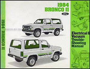 Ford Bronco Only Electrical Troubleshooting Manual