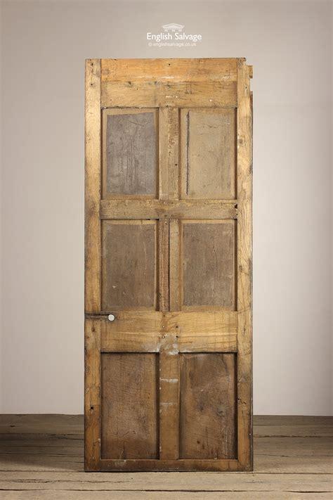 oak carved  panel door