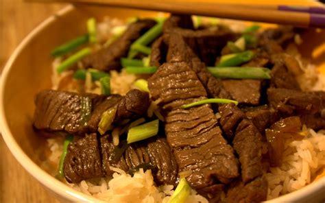 cuisiner un reste de poulet bœuf à la chinoise recettes cookeo