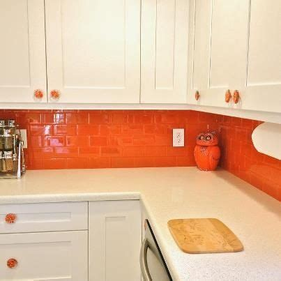 Orange Backsplash Kitchen Ideas  Kitchen Backsplash Tile. Kitchen Bathroom Expo. Walk In Kitchen Pantry Unit. Kitchen Art Vegetables. Kitchen Wall Mural Ideas