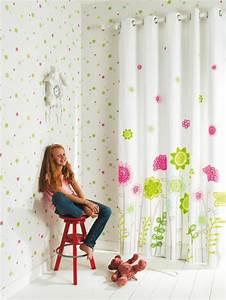 Kinderzimmer Vorhänge Mädchen : kindergardinen mit lustigen mustern beleben das kinderzimmer ~ Watch28wear.com Haus und Dekorationen