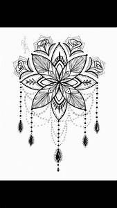 Henna Muster Schablone : die besten 25 mandala blumen tattoos ideen auf pinterest lotus mandala design lotusblumen ~ Frokenaadalensverden.com Haus und Dekorationen
