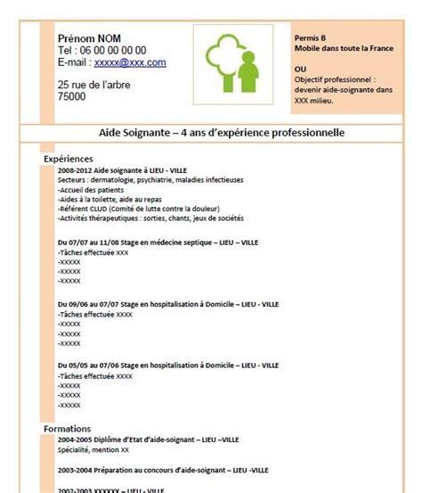 Modèle De Cv à Télécharger Gratuitement by Resume Format Exemple De Cv Gratuit D Aide Soignante