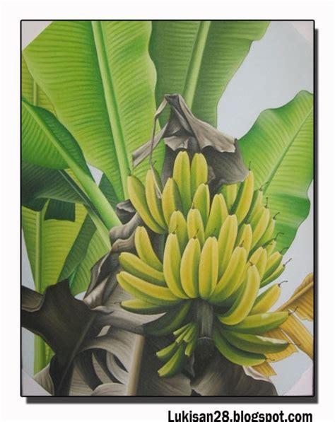 mewarnai gambar pohon pisang