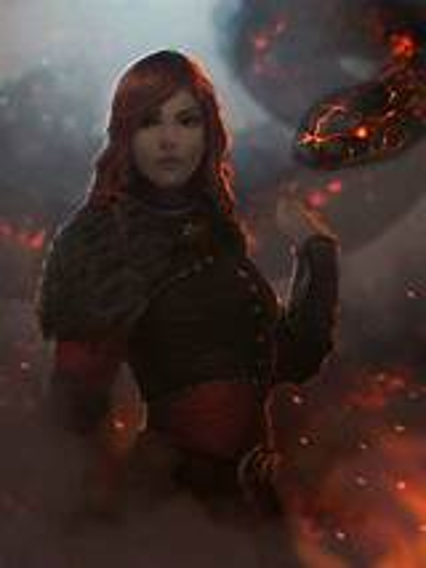 fantasy, Art, Fire, Woman Wallpapers HD / Desktop and ...