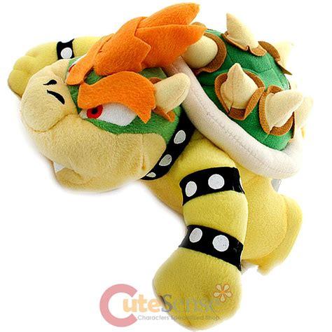 Super Mario Bros Bowser Plush Doll King Koopa Soft Stuffed