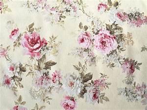 romantik rosen rosenstoff creme bezugstoff have fun with With katzennetz balkon mit elizabeth garden creme