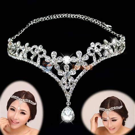 Wedding Tiaras by Wedding Tiara Bridal Prom Flower Crown Tiara