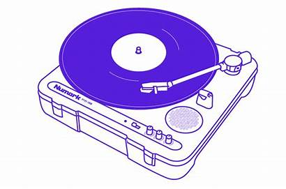 Record Turntable System Stereo Turntables Vinyl Player