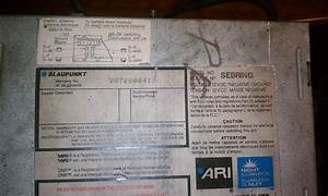 Blaupunkt Sebring Just Like Reno  Need Wire Harness - Rennlist