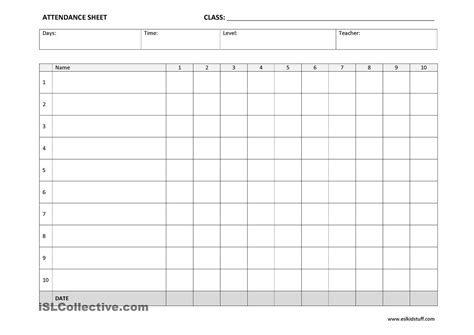 sheets templates 25 printable attendance sheet templates excel word utemplates