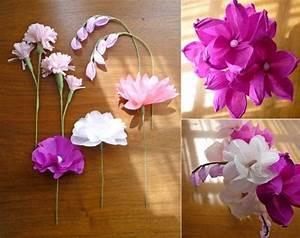 Blumen Aus Seidenpapier : papier blumen verschiedene arten falten basteln seidenpapier basteln mit papier papier ~ Orissabook.com Haus und Dekorationen