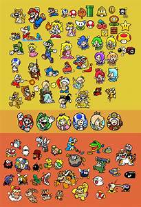 Super Mario 3D World Stamps by Pikodie-3000 on DeviantArt