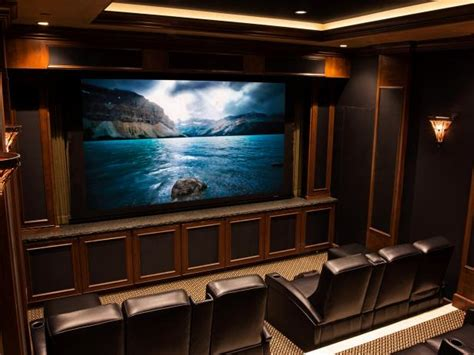home theater designs  cedia  finalists hgtv