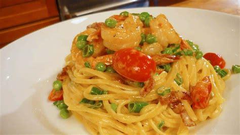 shrimp pasta recipes shrimp pasta recipe with bacon
