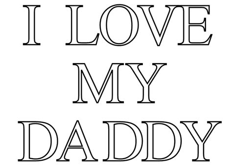 Check Out Free Printable Fathers Day Coloring Pages Online