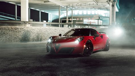 2015 Pogea Racing Alfa Romeo 4c Wallpaper