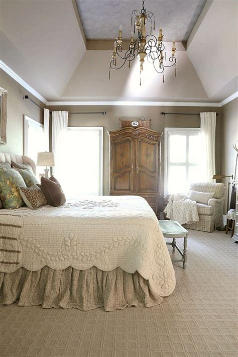 french country master bedroom refresh diy home decor