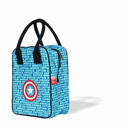 Captain America Bag Lunch Ecoright Marvel Tote