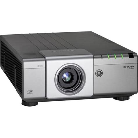 sharp shxgp610x dlp projector xg p610x b h photo