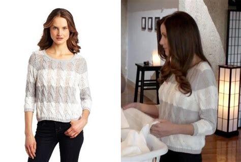 Julie Gonzalo's Striped Sweater On 'dallas'