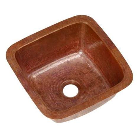 home depot copper sink sinkology pollock undermount handmade pure solid copper 12