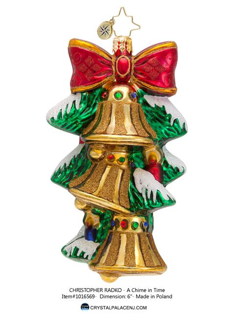 christopher radko a chime in time ornament