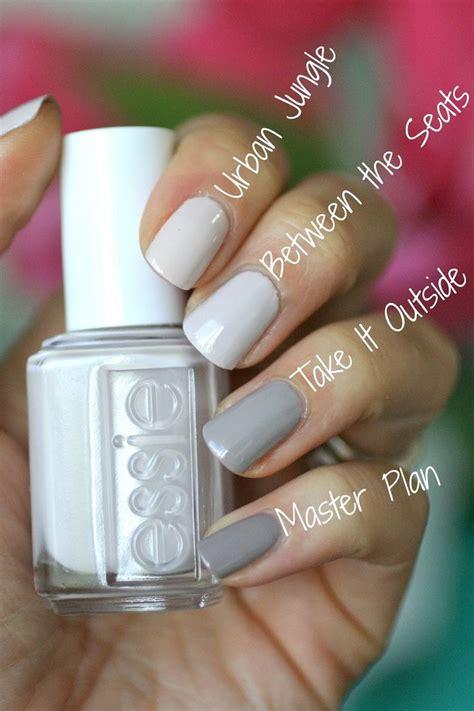 best essie colors best 25 white nail ideas on essie nail