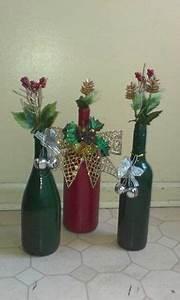 Joy Wine Bottles Christmas Decoration Christmas Joy Wine