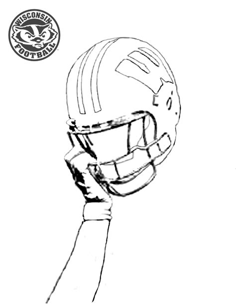 wisconsin badger printable coloring pages coloring pages