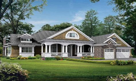 E Home Designs : Craftsman One Story Home Designs One Story Craftsman Style