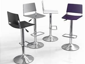 Un Dossier De Chaise : tabouret de bar r glable avec dossier mobilier design ~ Premium-room.com Idées de Décoration