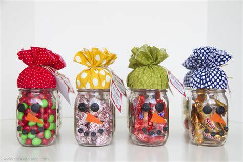 Snowman Candy Jar...plus Free Printable