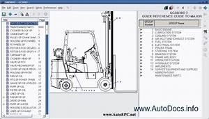 Daewoo Forklift Electronic Spare Parts Catalogue Contains Spare Parts Catalogue All Models Fork