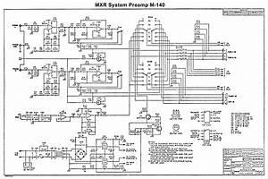Schematic  Mxr System Preamp Ii  M