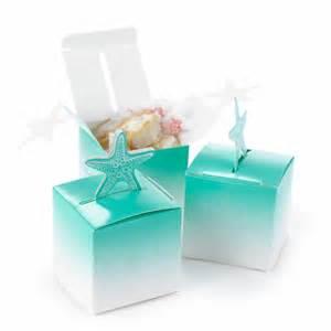 starfish wedding favors starfish wedding favor boxes set of 25