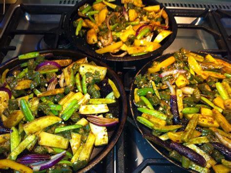 Easy Indian recipes: Tava masala vegetables