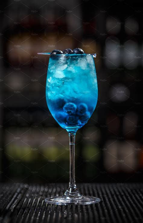 blue lagoon cocktail high quality food images creative