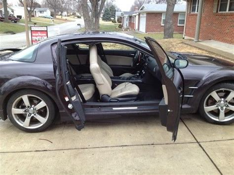 Sell Used 2005 Mazda Rx-8 Rare Special Edition Black