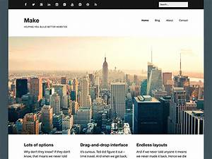 60 best free responsive wordpress themes 2016 athemes With making wordpress templates