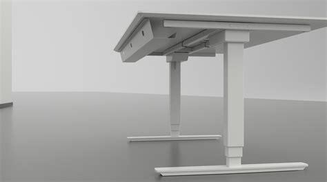 bureau assis debout electrique bureau assis debout blanc classique