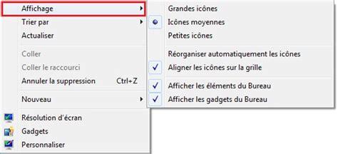 windows 7 rorganiser les icnes sur le bureau clubic