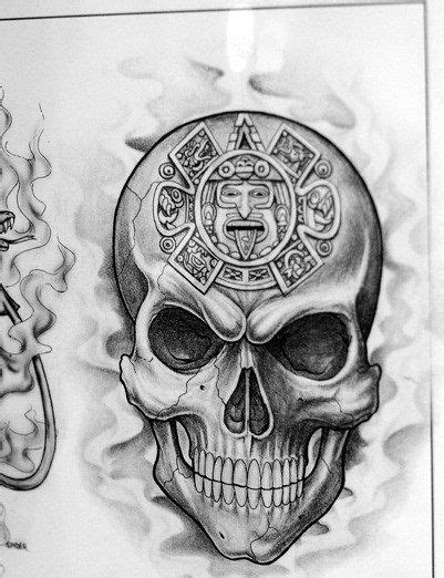 Aztec Skull Tattoo Meaning 2016 top 86 aztec tattoos ideas