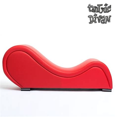 red tantra sofa