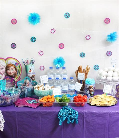 throw  ultimate budget friendly frozen birthday
