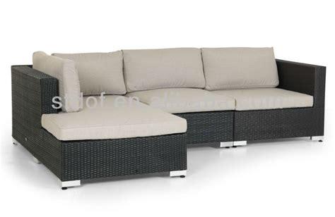 china l shape garden furniture rattan sofa 2017 new