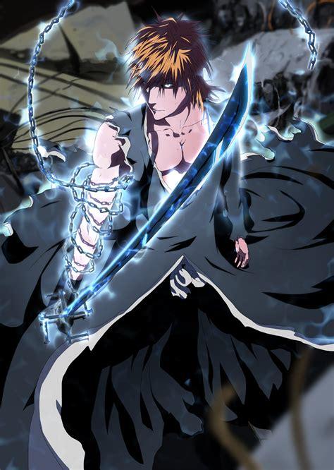 Ichigo's Final Getsuga Tensho (mugetsu)  Daily Anime Art
