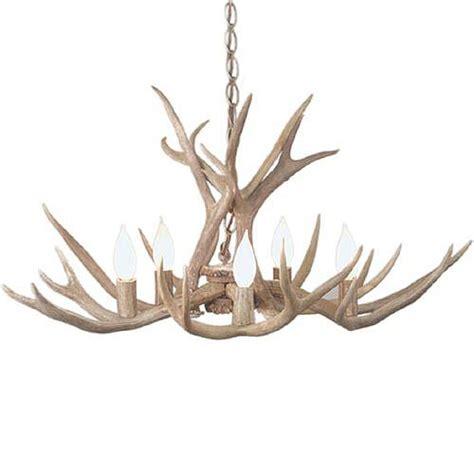 pioneer mule deer antler chandelier